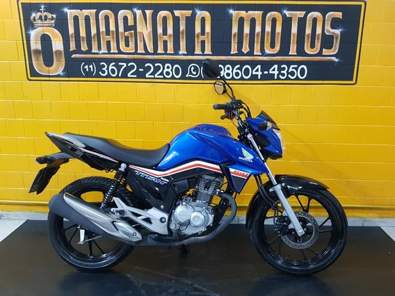 Honda Cg 160 Titan - Azul - 2019 - Km 6.000 947234344