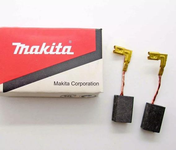 Escova D Carvao Makita Cb325 / Hr2470 / 9554 / 9557 / Ga2014