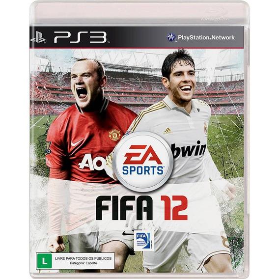 Game Ps3 Fifa 12 - Original - Reembalado - Raridade