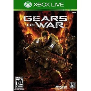 Gears Of War Para Xbox 360 Y One Codigo Descargable Rebajado
