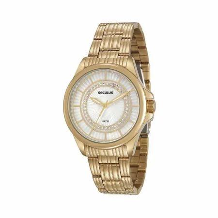 Relógio De Pulso Feminino Seculus Cód. 20601lpsvds2