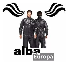 Capa Chuva Motoqueiro Alba Europa Preto Tam: G