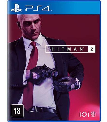 Jogo Hitman 2 Playstation 4 Ps4 Mídia Física Português Novo Lacrado