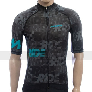 Jersey Ciclismo Magenta Cycling Ride Gris Oscuro Casaclubtan