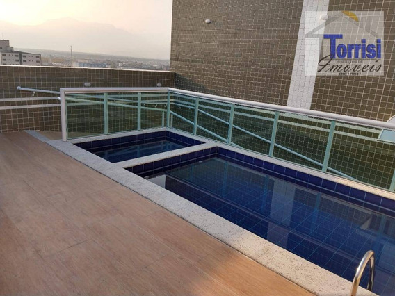 Apartamento Em Praia Grande, 01 Dormitório, Mirim, Ap2096 - Ap2096