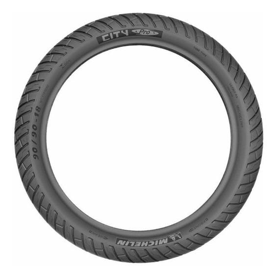 Cubierta Michelin City Pro 70/90 R17 M/c 43s Reinf Tt