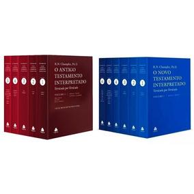 Livro Antigo E Novo Testamento Interpretado Russell Champlin