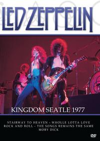 Dvd Led Zeppelin Kingdom Seatle 1977