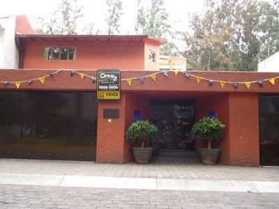 Residencial Colonial Mexicano En Excelentes Condiciones En Venta Colinas Del Bosque