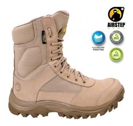 Bota Airstep Conforto Tan 8627-25