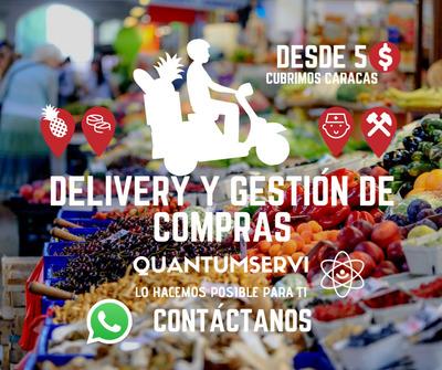 Delivery Encargos Encomiendas Gestión De Compras Caracas
