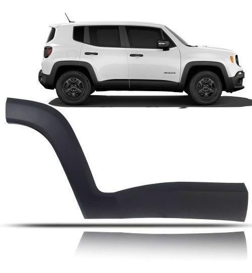 Moldura Porta Traseira Lado Direito Jeep Renegade 2017 2018