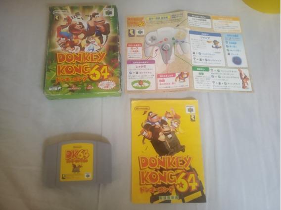Donkey Kong Nintendo 64 Completissimo E Novo