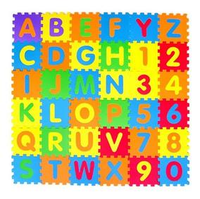 Tapete Eva Infantil C/ 36 Placas Tatame Atoxico Montessori