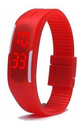 Relógio Digital Esporte Bracelete Led Adulto Infantil Barato
