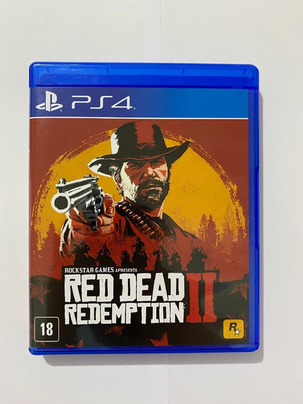 Jogo Game Red Dead Redemption 2 - Ps4