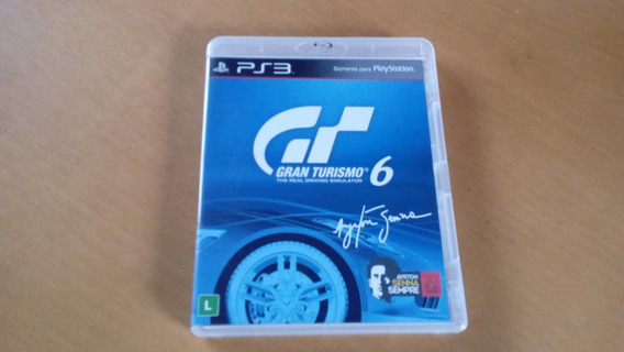Grand Turismo 6 Playstation 3 Mídia Fisica