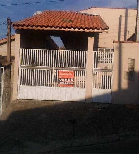 Casa À Venda, 86 M² Por R$ 215.000,00 - Cidade Salvador - Jacareí/sp - Ca0197