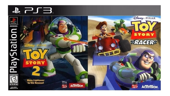 Toy Story 2 + Toy Story Racer Ps3 Digital Psn Cassico De Ps1