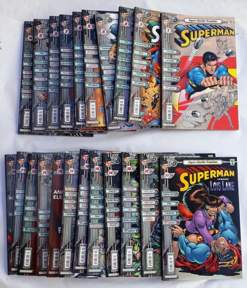 Superman Super Herói Premium 2000 Abril 22 Hq Luxo Seminovo