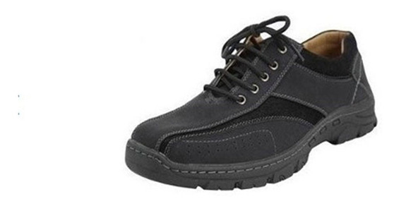 Zapatillas Casual De Hombre Negro // Agta Zapatos