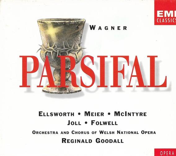 Box 4 Cd Wagner - Parsifal - Reginald Goodall Waltraud Meier