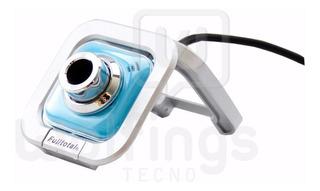 Webcam Camara Web Camara Para Pc Usb Microfono We-120 Color
