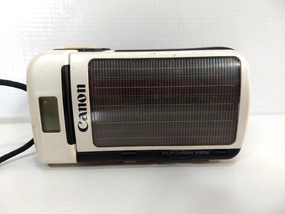 Câmera Fotográfica Antiga Canon Autoboy Se Solar Retro Rara