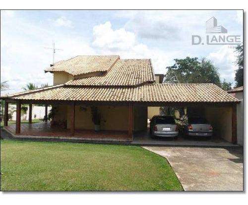 Casa Com 4 Dormitórios À Venda, 625 M² Por R$ 1.270.000,00 - Parque Xangrilá - Campinas/sp - Ca9130