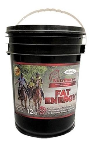 Imagen 1 de 7 de Suplemento Energético Para Equinos Nutrihorse Fat-energyx