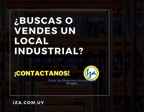 Iza. Locales Industriales Depositos Galpones