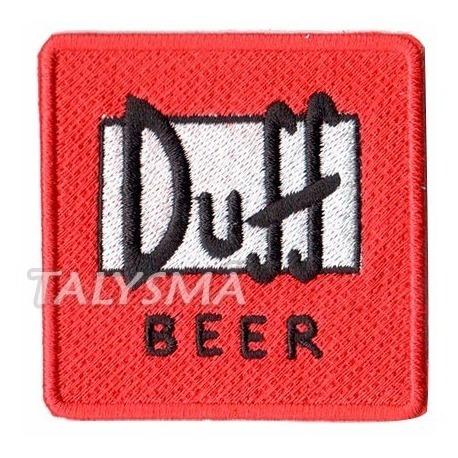 Patch P/ Camiseta Blusa - Simpsons Cerveja Duff Beer Dv80463