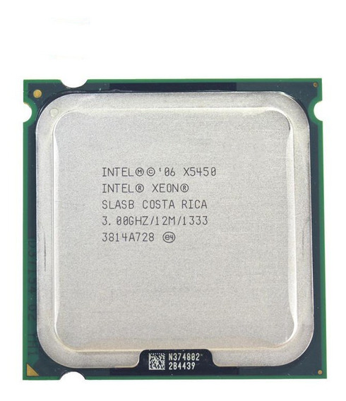 Intel Xeon X5450 3.0 Ghz/12 M/1333 Mhz = Core 2 Quad Qx9770