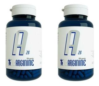 2x Arginina Pura 2g = 400 Caps Bulgarian -melhor Que Dilatex