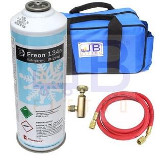 Kit Para Recarga De Gás R134 Em Geladeiras E Freezers