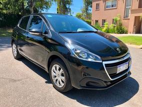 Peugeot 208 1.5 Active 2017 Negro - En Garantia De Fabrica