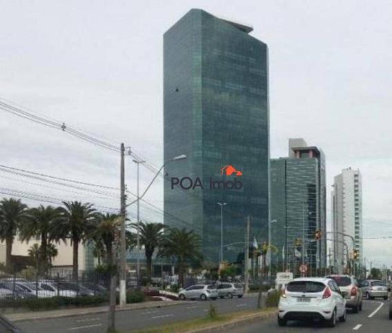 Sala Comercial Para Venda E Locação, Cristal, Porto Alegre. - Sa0247