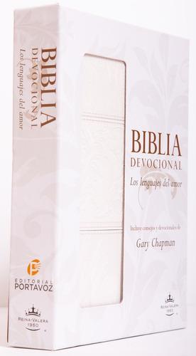 Biblia De Estudio Devocional Los Lenguajes Del Amor Blanca