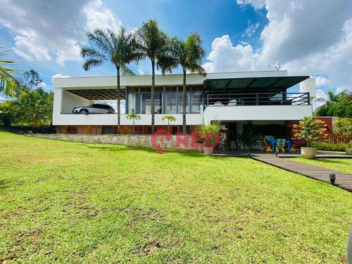 Imagem 1 de 30 de Maravilhoso Sobrado Com 4 Dormitórios À Venda, 420 M² Por R$ 2.850.000 - Condomínio City Castelo - Itu/sp - So0385