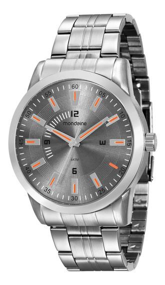Relógio Mondaine Masculino Prata 99088g0mvne1