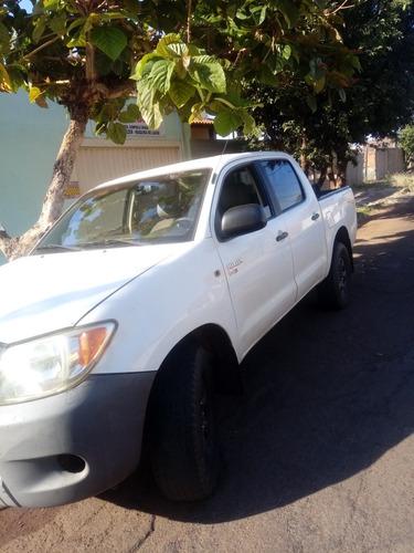 Imagem 1 de 8 de Toyota Hilux 2007 2.5 Cab. Dupla 4x4 4p