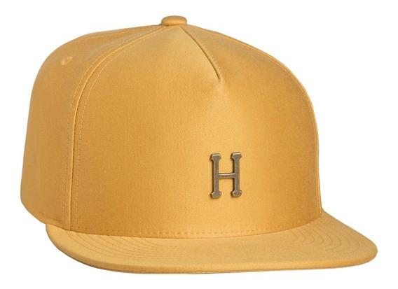 Gorra Huf Small Metal H Strapback Mustard Original