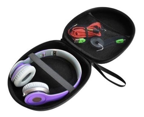 Case Capa Estojo Rígido P/ Headphone Headset 21 X 19 X 6 Cm