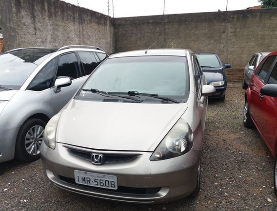 Honda Fit 1.4 Lxl 8v Gasolina 4p Manual 2006 Dourada