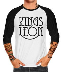 Playera Raglan Caballero Kings Of Leon