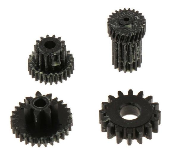 4x Lente Engrenagem Da Roda Do Motor Para Nikon Coolpix P510