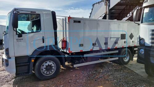 Caminhão Com Comboio 6.000 L Vw 17.190 Robust 21/22  0 Km