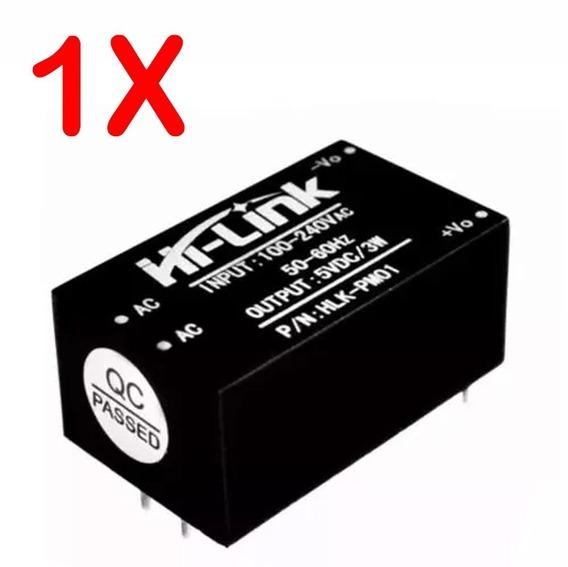 Mini Fonte Chaveada Hlk-pm01 100~240vac P/ 5v Dc Automação