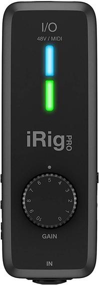 Interface De Áudio Ik Multimedia Irig Pro I