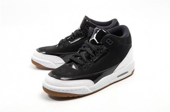 Tenis Air Jordan 3 Retro Gg 441140-022, Meses Sin Intereses
